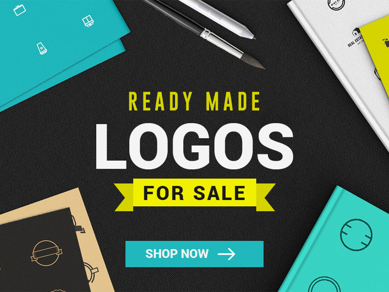 Ready Made logo design templates for sale