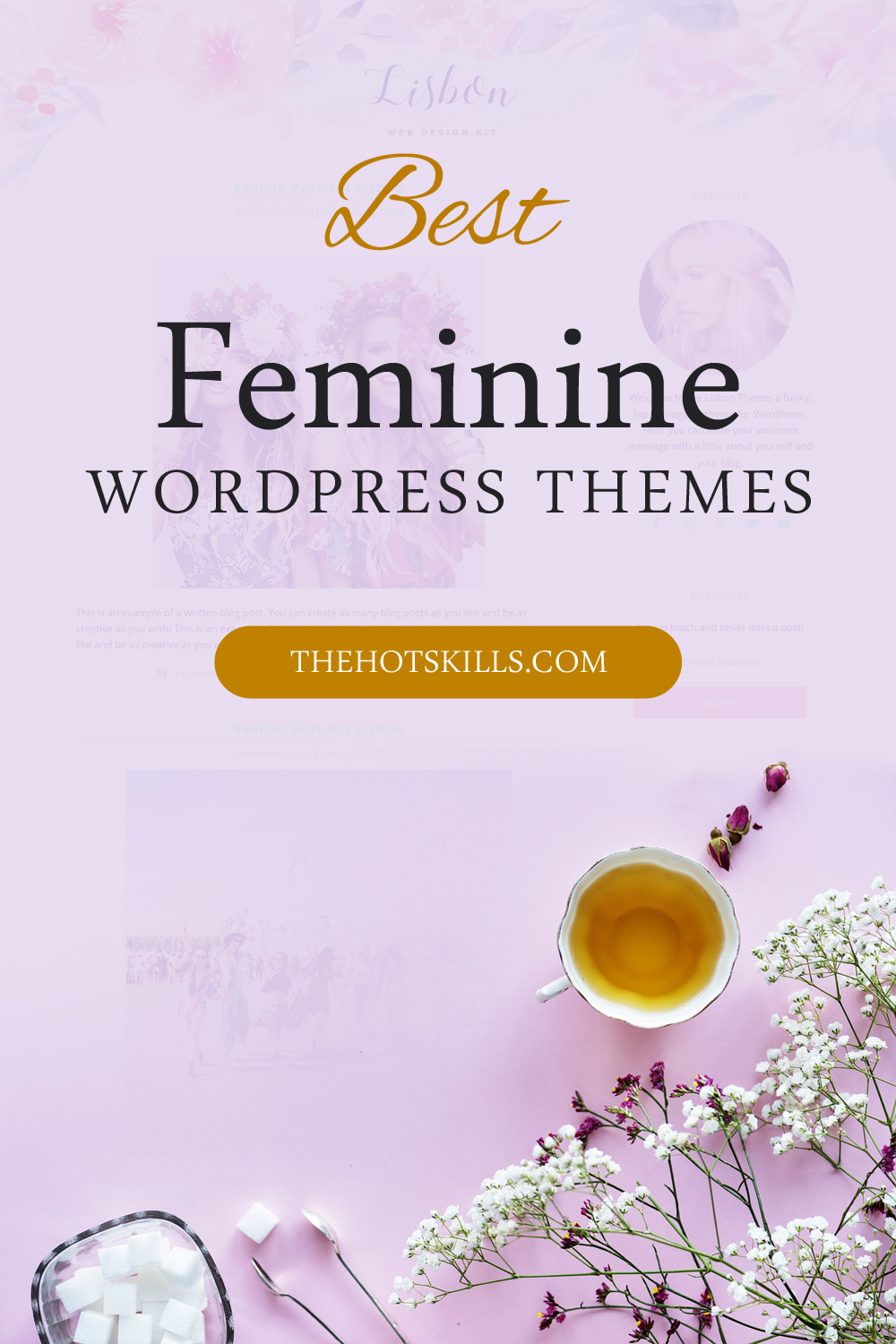best Feminine WordPress Themes 2018