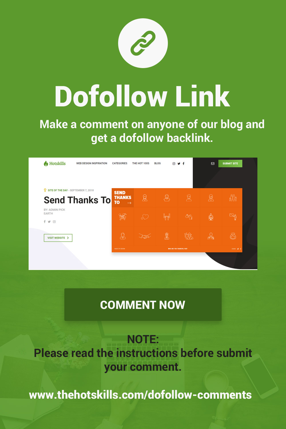 dofollow comment blogs