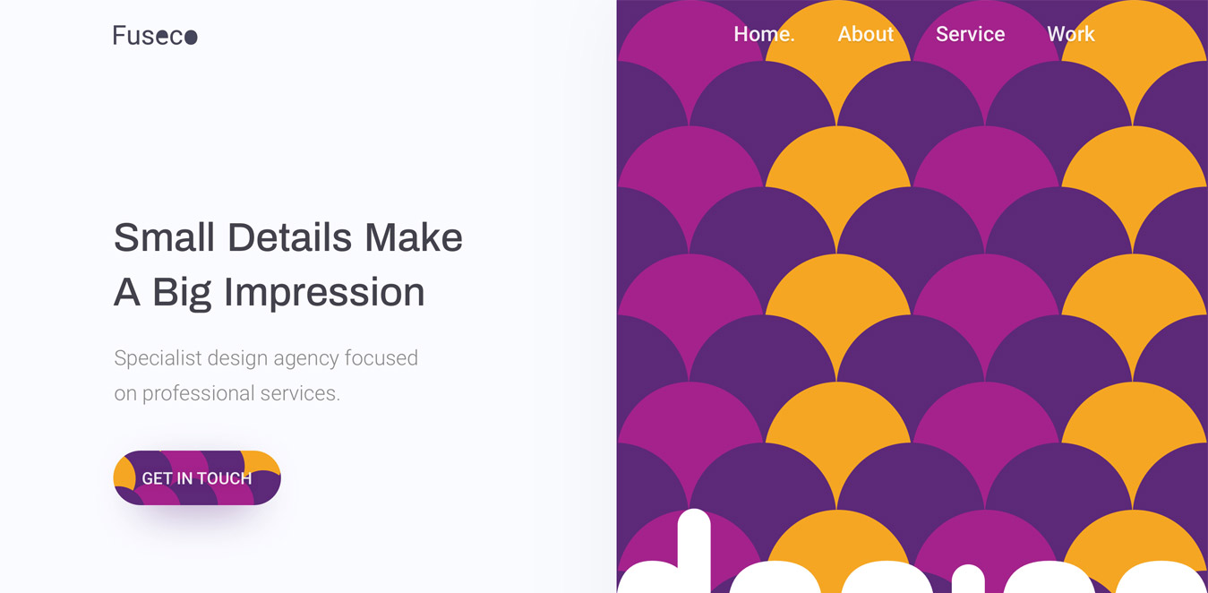 Design Agency Homepage