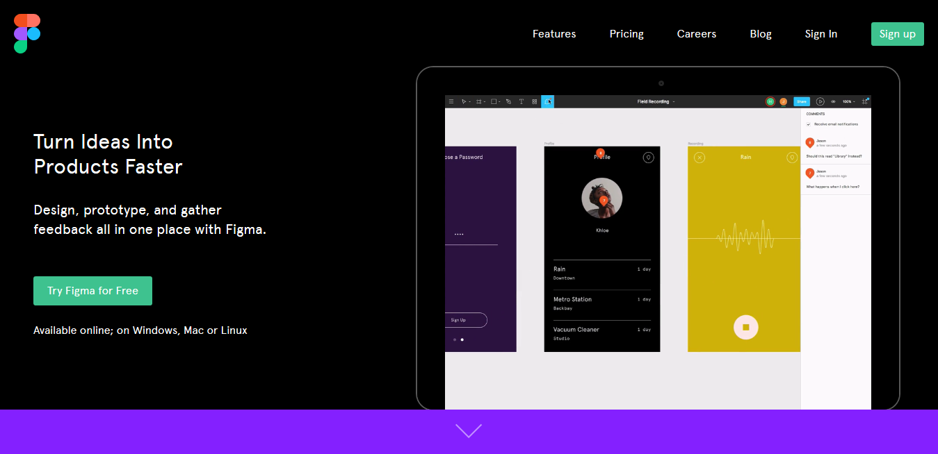 Figma the collaborative interface design tool
