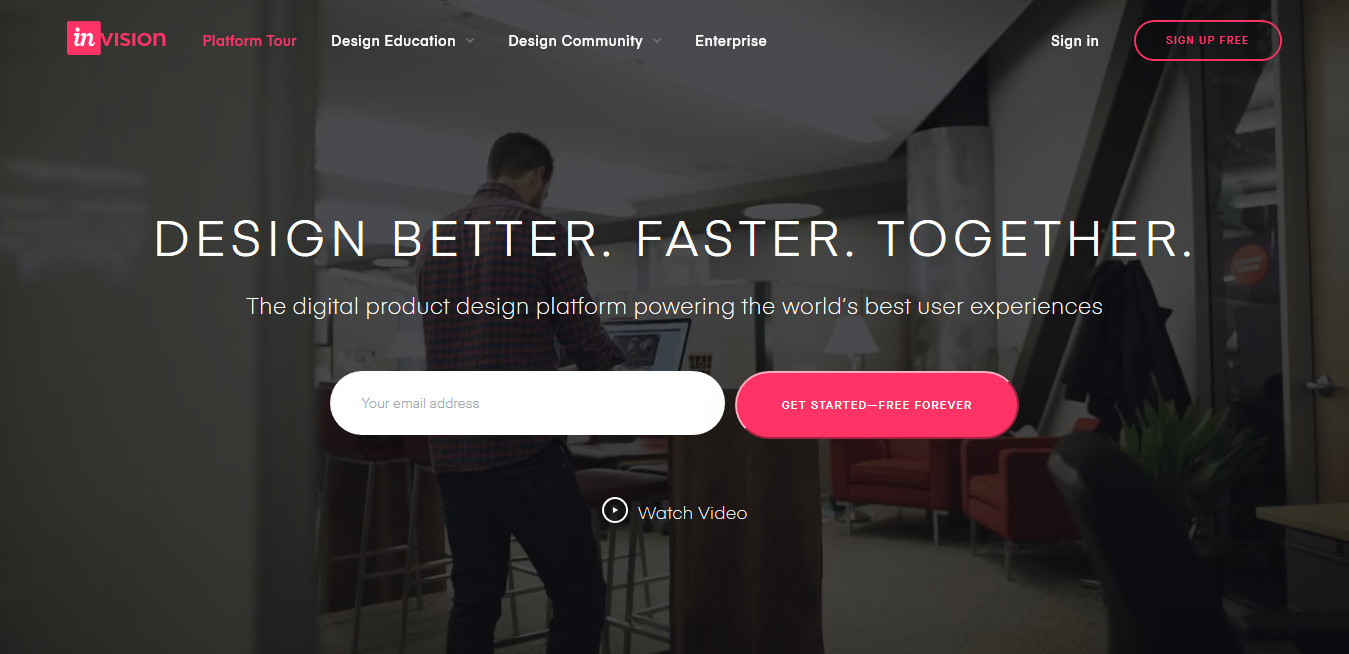 InVision Digital product design, workflow collaboration