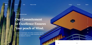Architecture Web Design