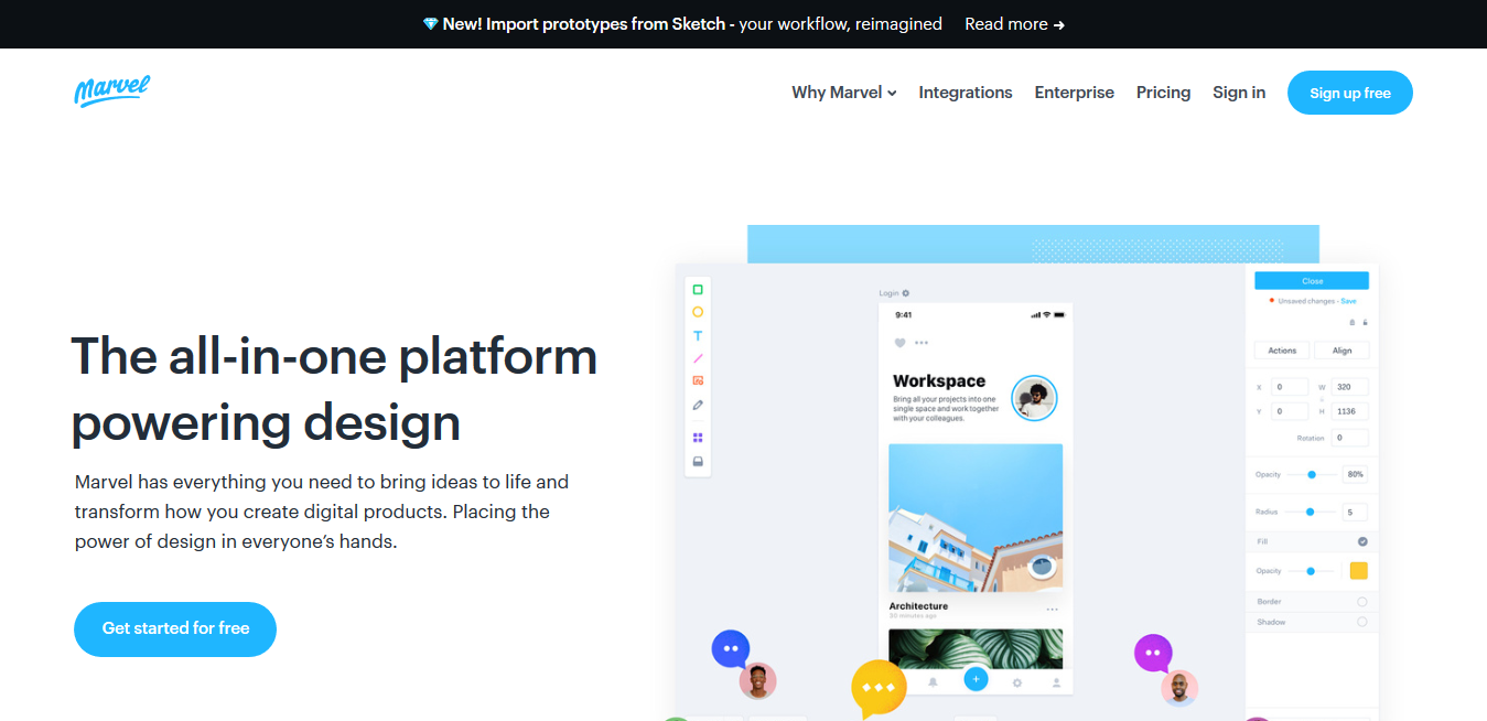 The design platform for digital products