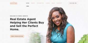 Real Estate Agent Web Design