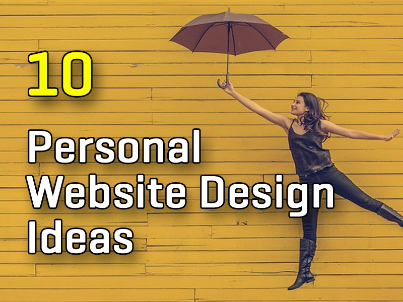 Personal Website Design Ideas