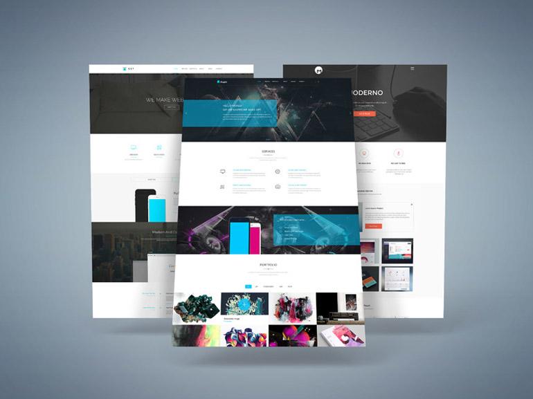 3D Web Presentation Mock-Up