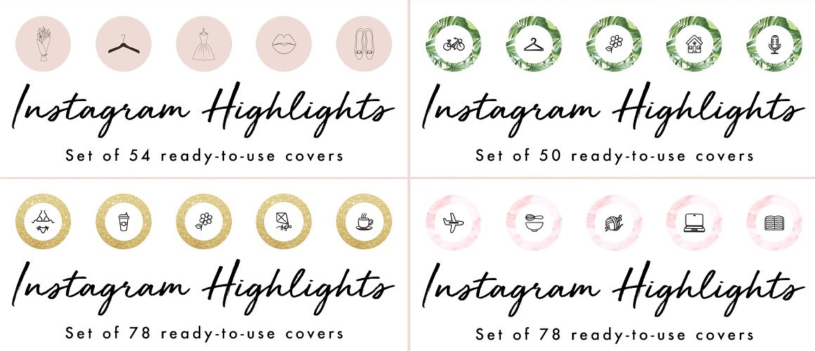 Instagram Highlights Covers