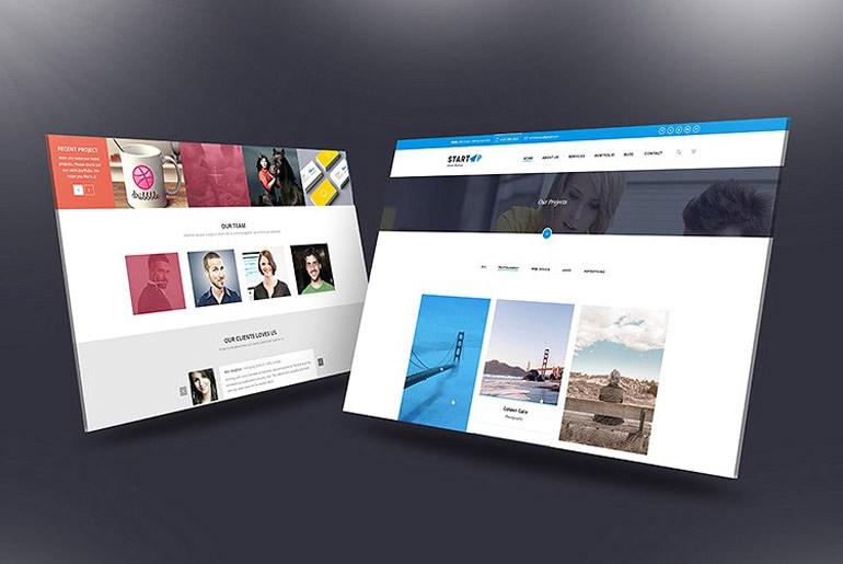 Desktop Screen Mock-Up