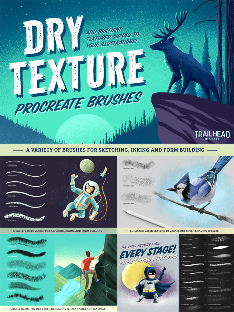 351+ Free Procreate Brushes (Updated Aug  2019) - Thehotskills