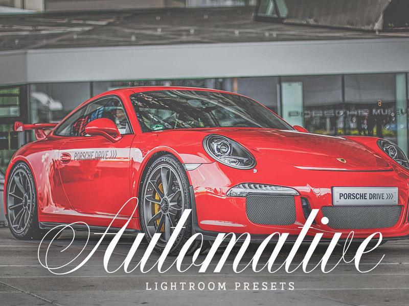 Free Automotive Lightroom Presets Feature