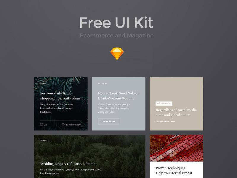 Free-Ecommerce UI Kit