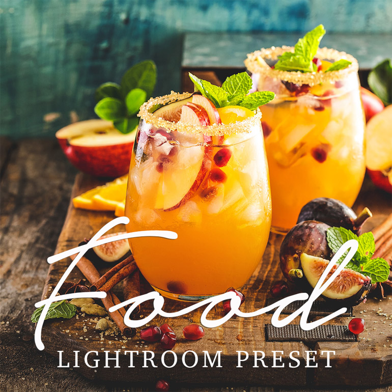 Free Food Photography Preset for Adobe Lightroom