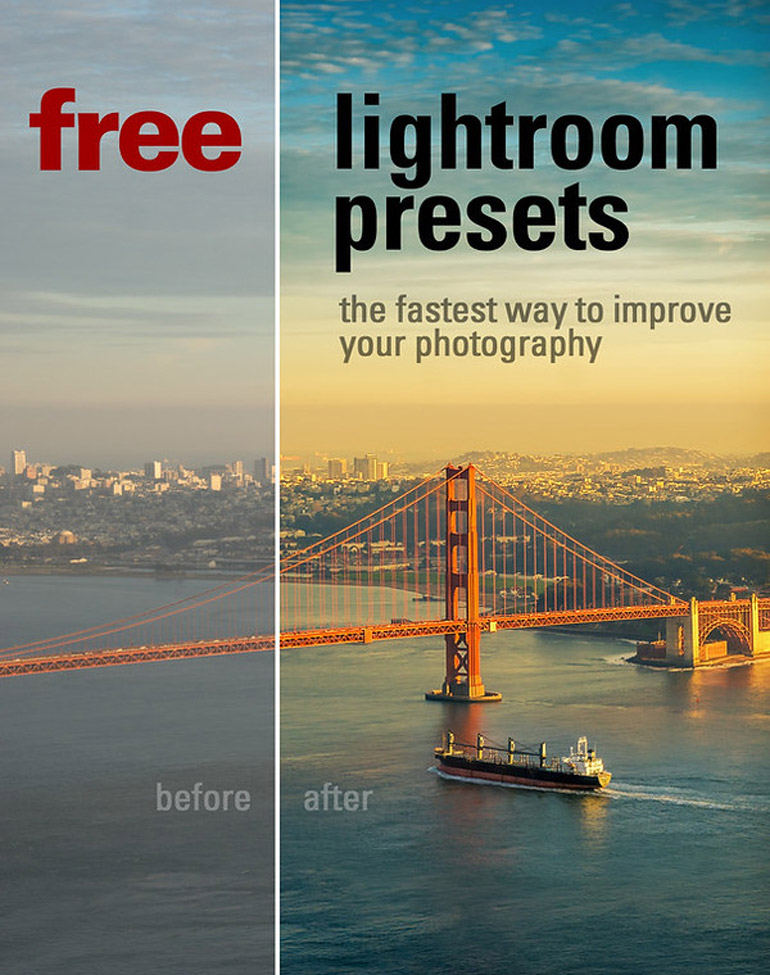 Free Lightroom Presets Travel Collection