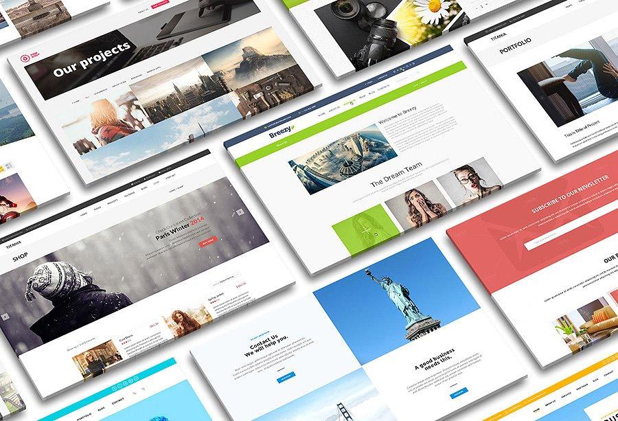 Perspective Desktop Screen Mock-up