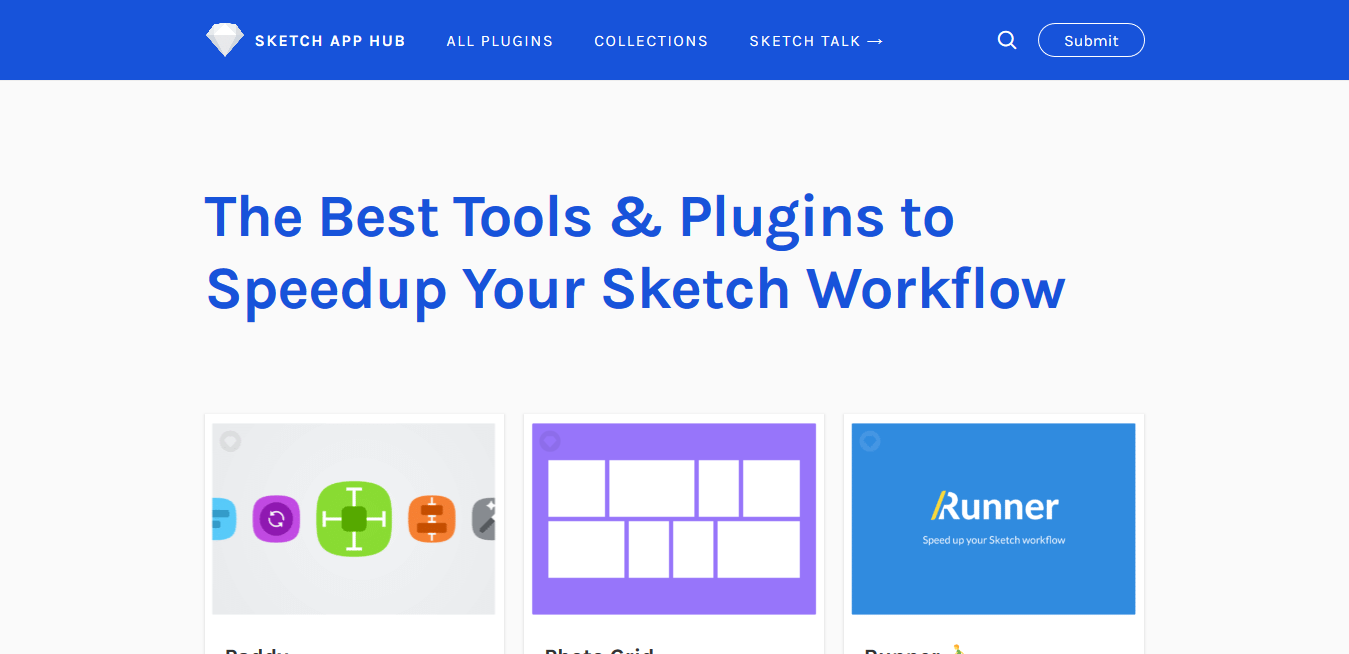 Sketch App Hub – The Best Tools Plugins to Speedup Your Sketch Workflow