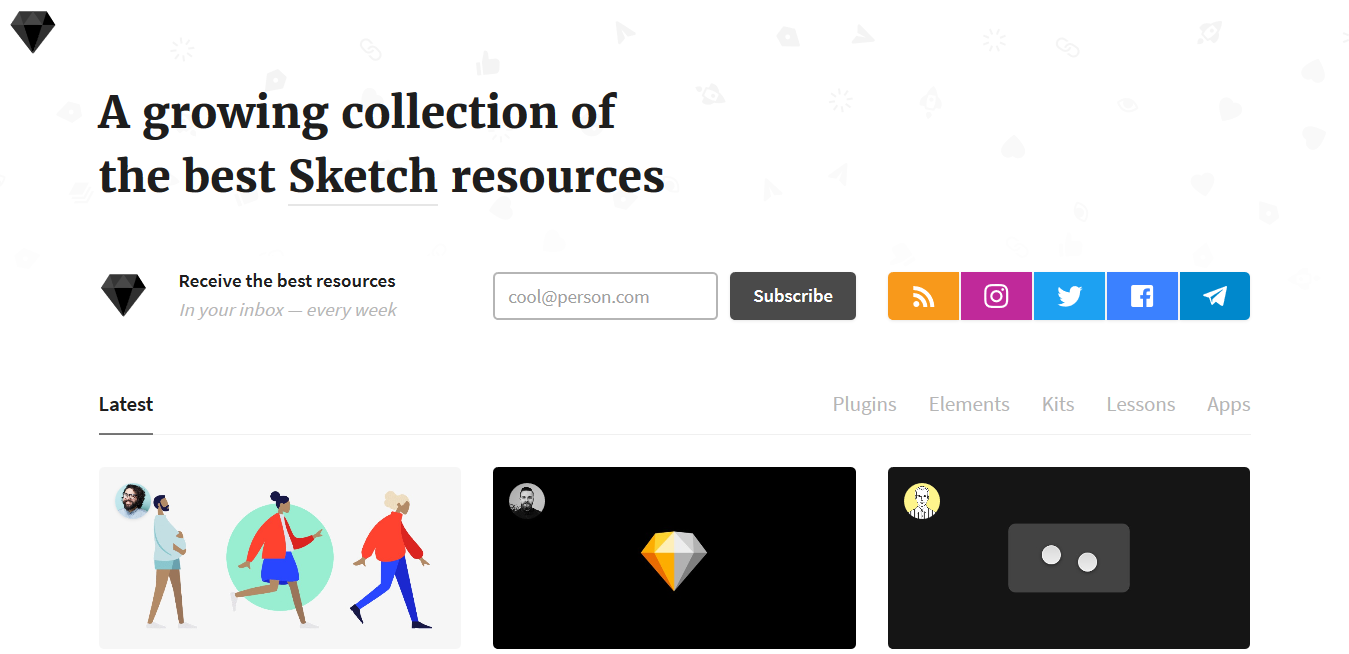 A growing collection of the best Sketch resources