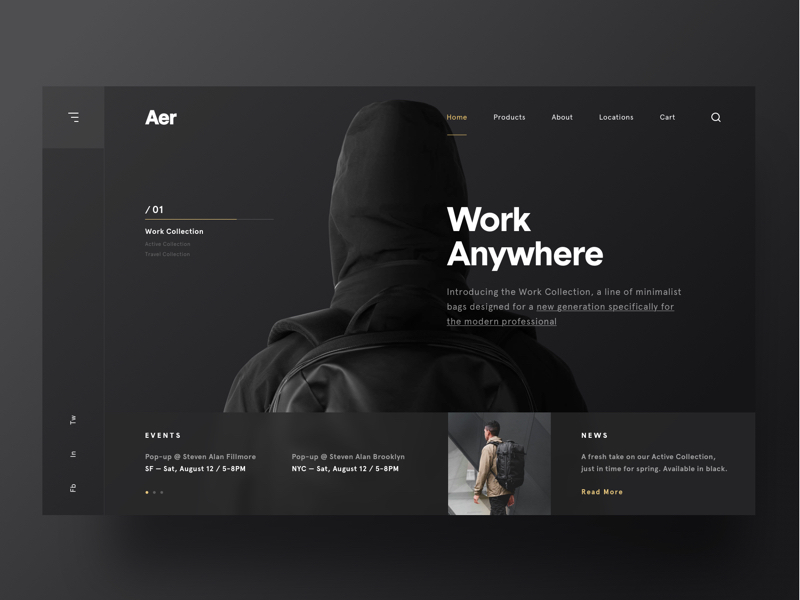 grid web ui designs