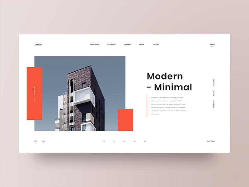 grid ui design examples