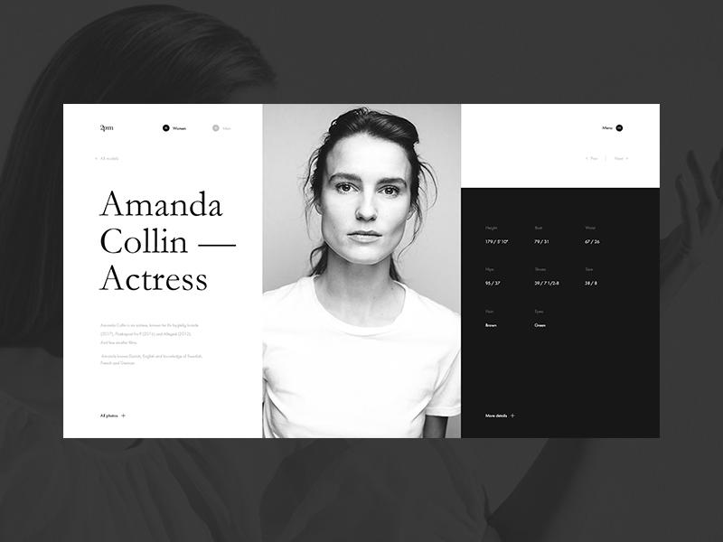 model agency design