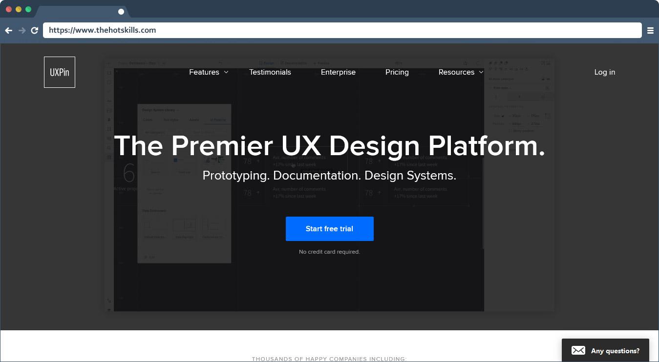 The Premier UX Design Platform