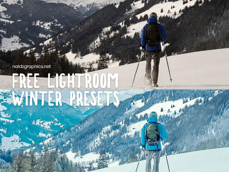 Free Winter Presets for Adobe Lightroom