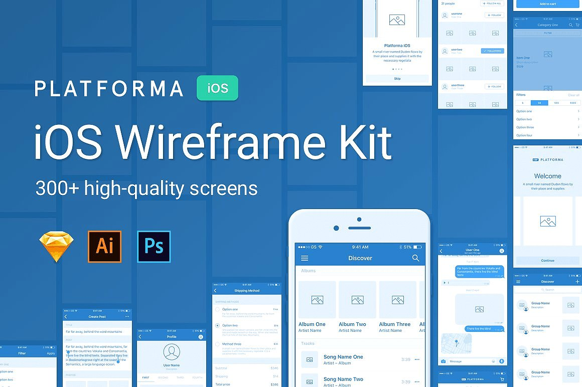 sketch app wireframe resources