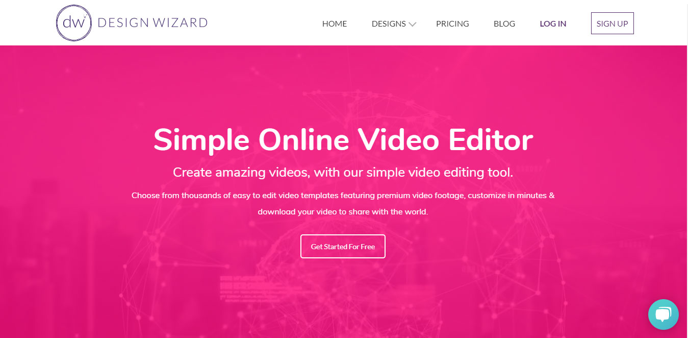 Design Wizard Video Editor