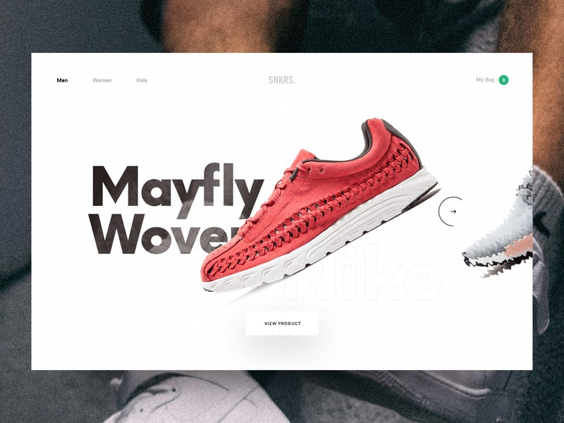 online store 42aab a41cd 40 Stunning Shoe Store Web UI Design Concepts for Inspiration 2019