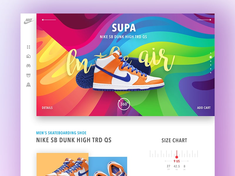 4600a528132c 40 Stunning Shoe Store Web UI Design Concepts — Thehotskills