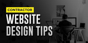 Contractor Website Design Tips