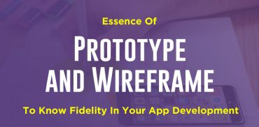 Prototype And Wireframe