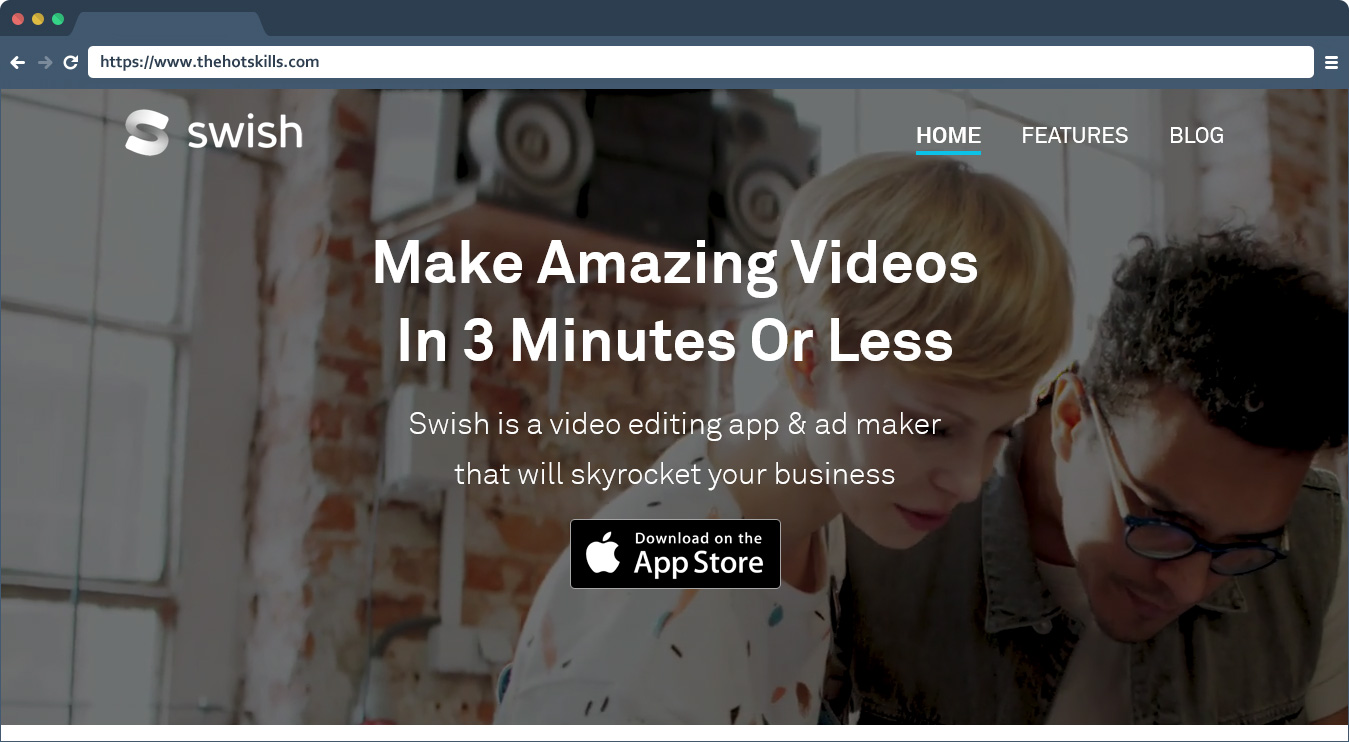Swish Best Video Maker App for Small Businesses