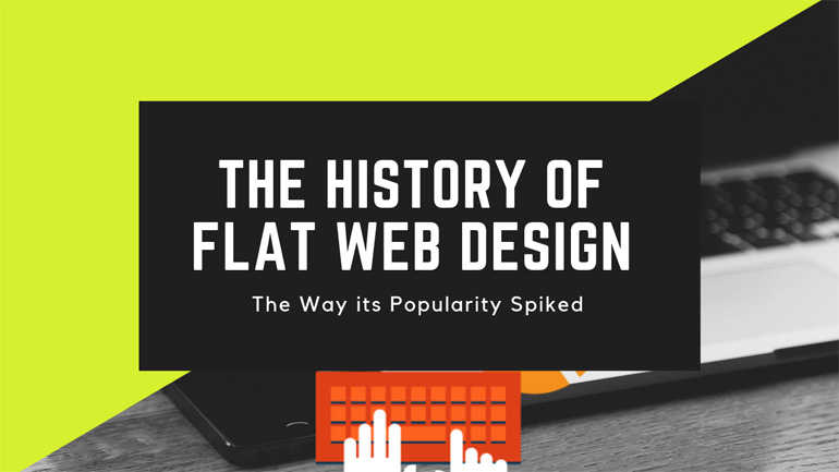 The History of Flat Web Design