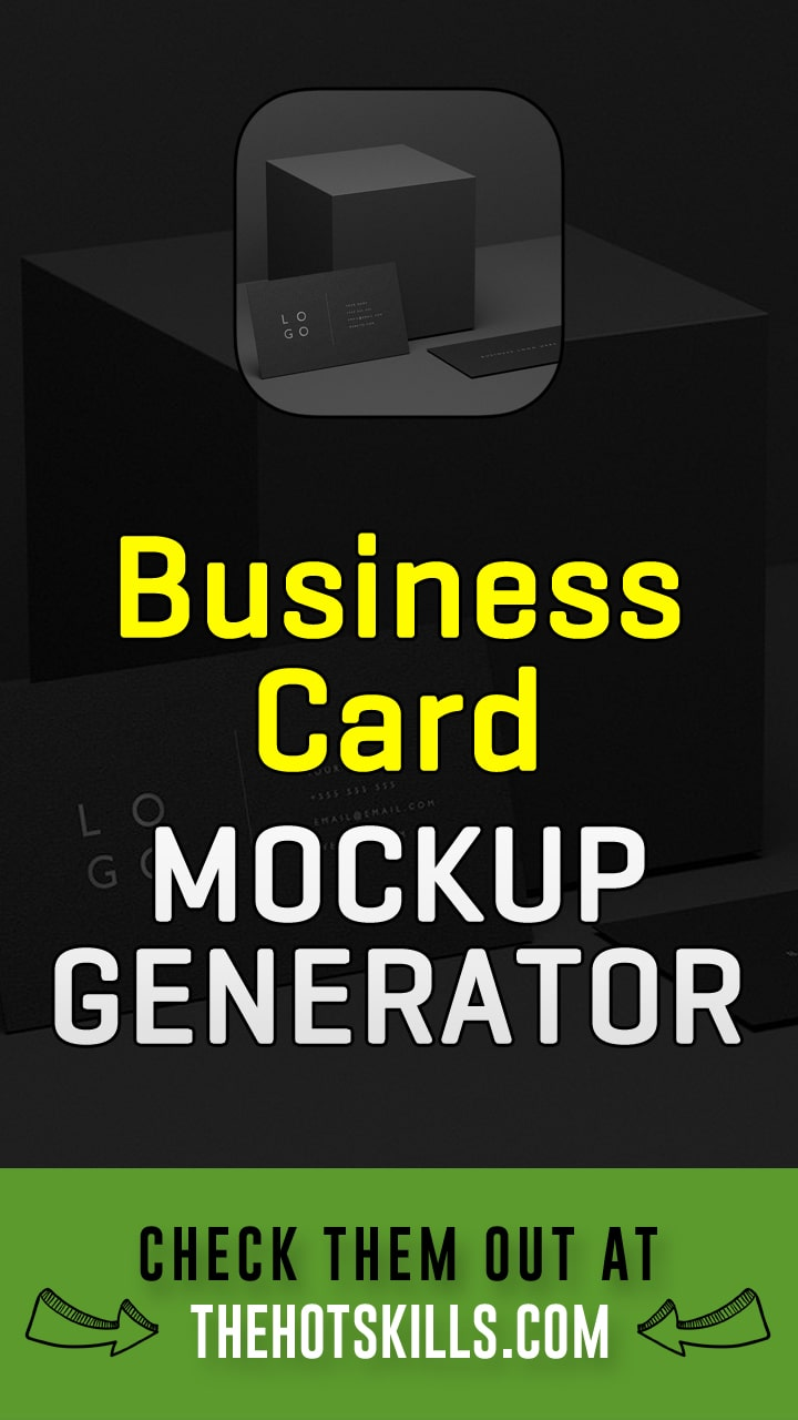 business card mockup generator tools