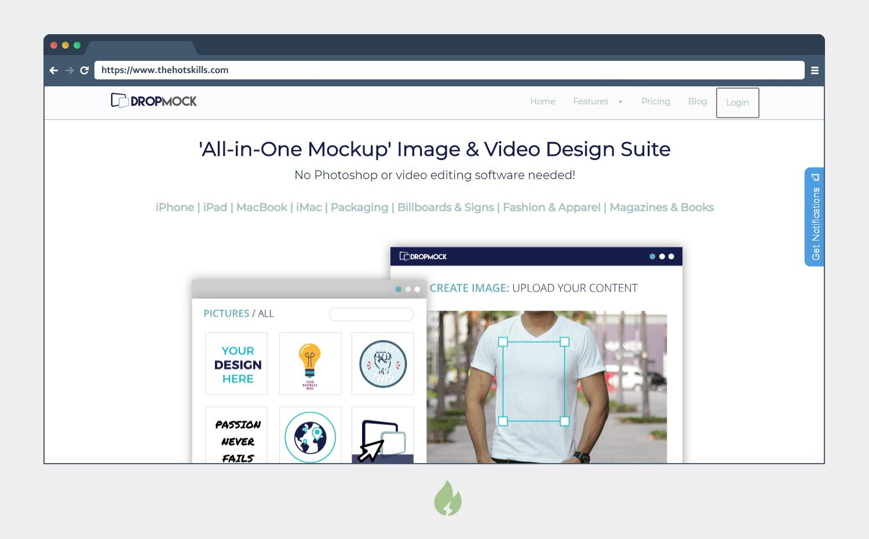 Online Mockup Scene Editor