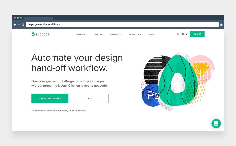 avocode designing tools