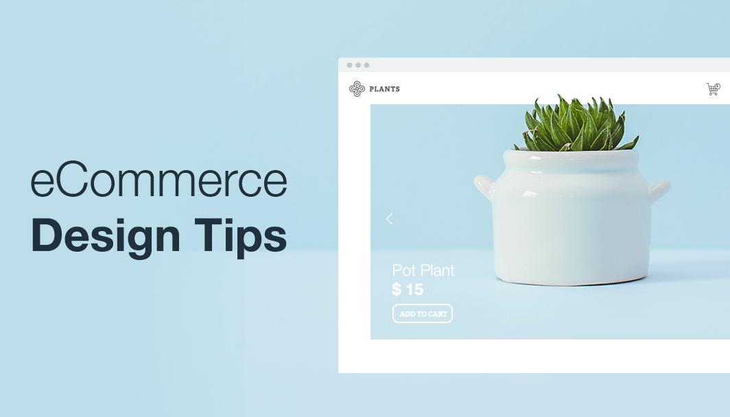ecommere website design tips
