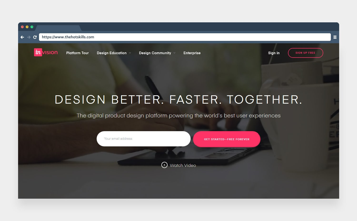 invision digital productdesign platform