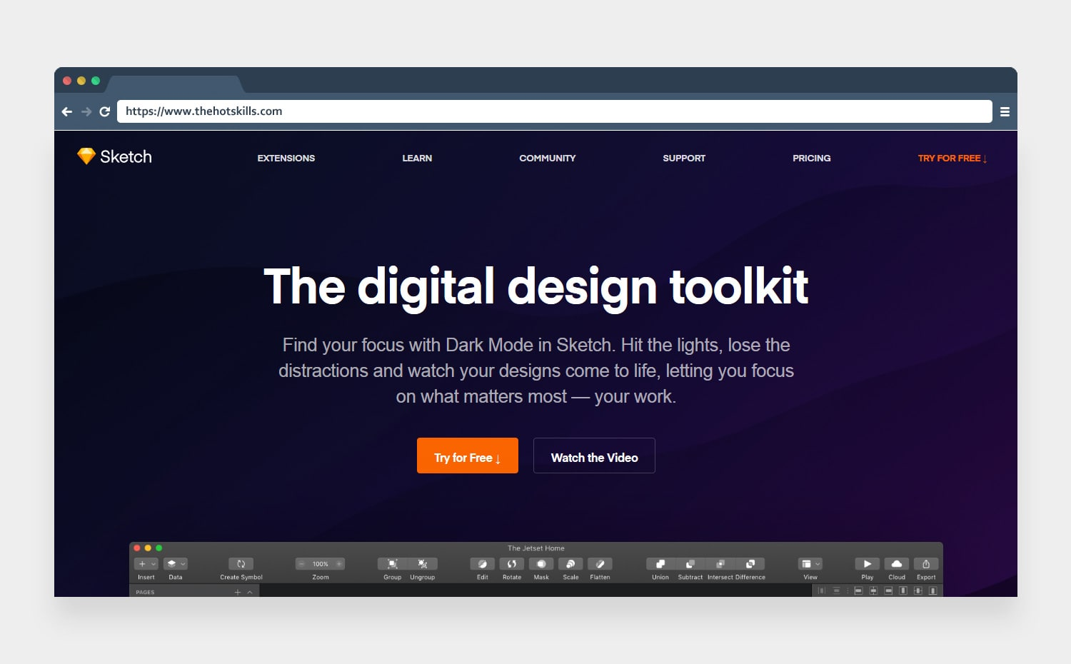 sketch digital design toolkit