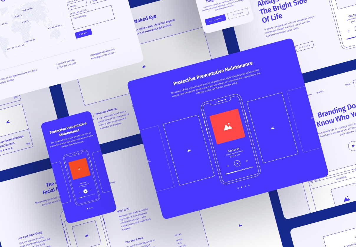 wireframe kits