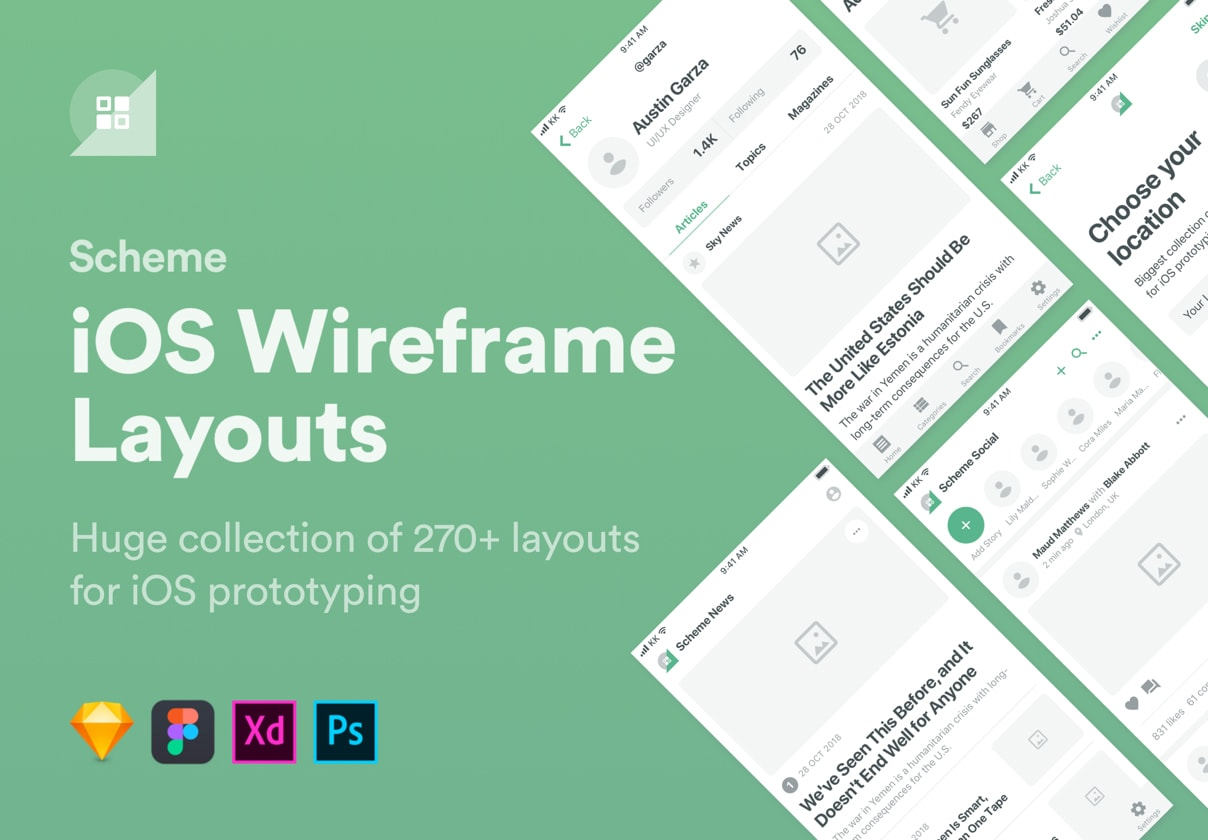best wireframe kit sketch