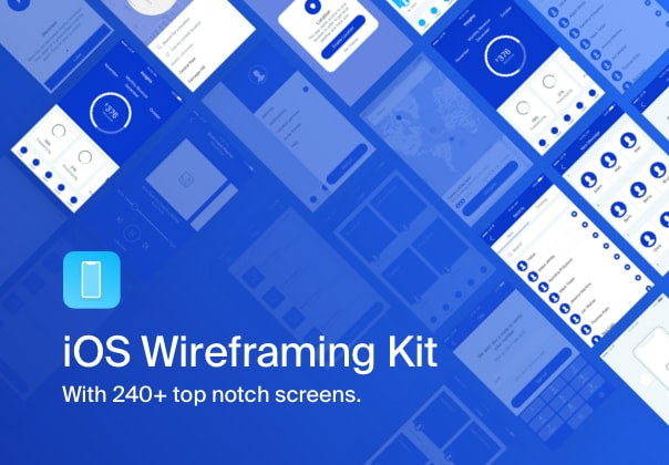 iOS Wireframing Kit