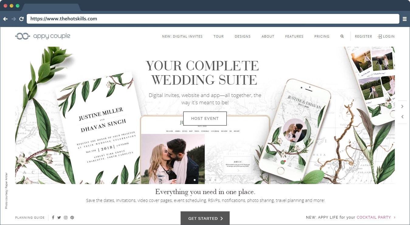 10 Best Free Wedding Website Builders (Price Comparison