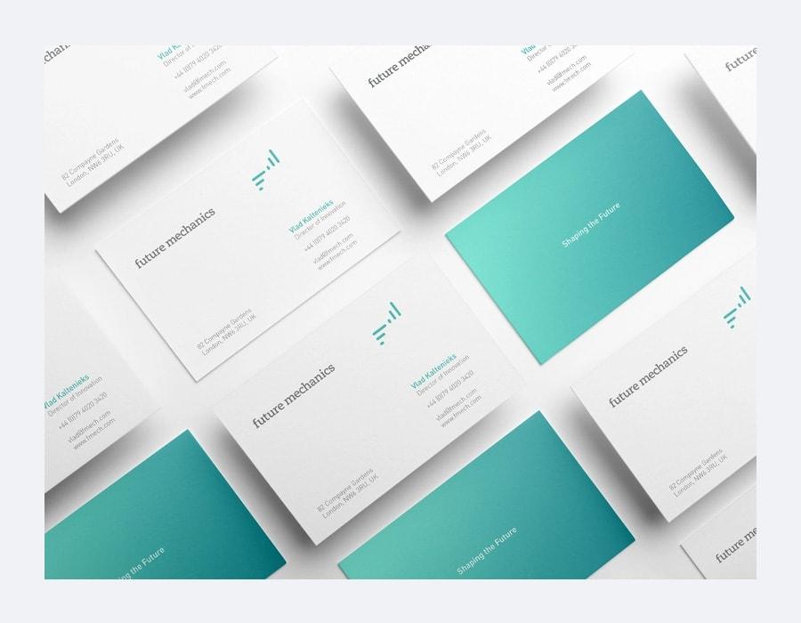 Business Cards Mockup PSD