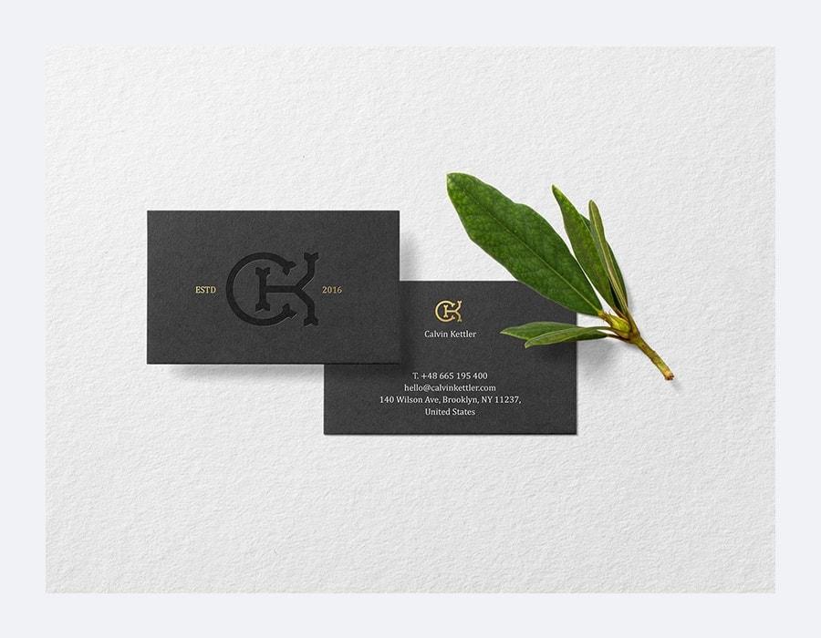 Free Business Cards Mockup Premade Scene