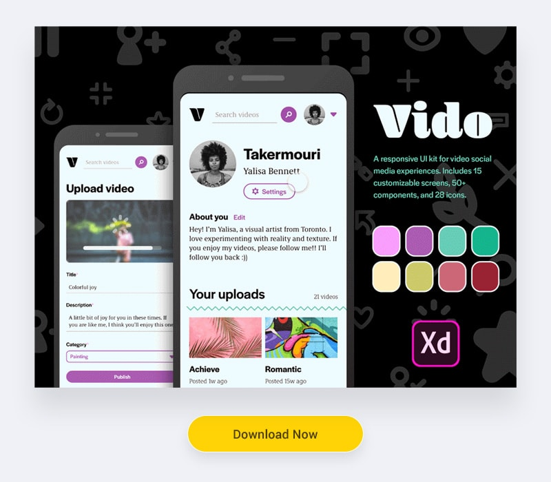 free Experience UI Kit