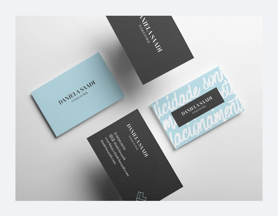 Best Business Cards Mockup PSD