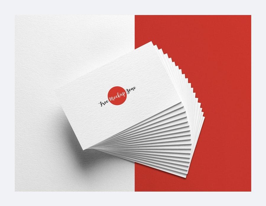 Free Elegant Business Card MockUp PSD