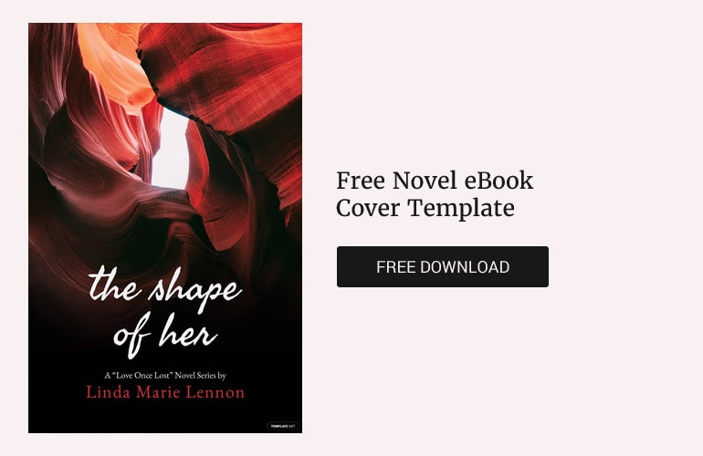 Free Novel eBook Cover Template